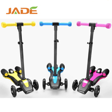 kids electric jet water pedal kick 3 wheel scooter bike with LED light and spray music