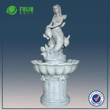 Popular garden large water fountains nude mermaid water fountain resin fountain