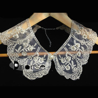 Hot sell fancy collars de moda 2014 with beads