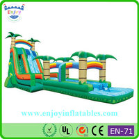 commercial cheap bounce house water slide/ inflatable waterslides/ big inflatable water slides for rent