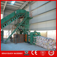 hydraulic baler for baling cartons, cotton yarn, plastic, wood, etc