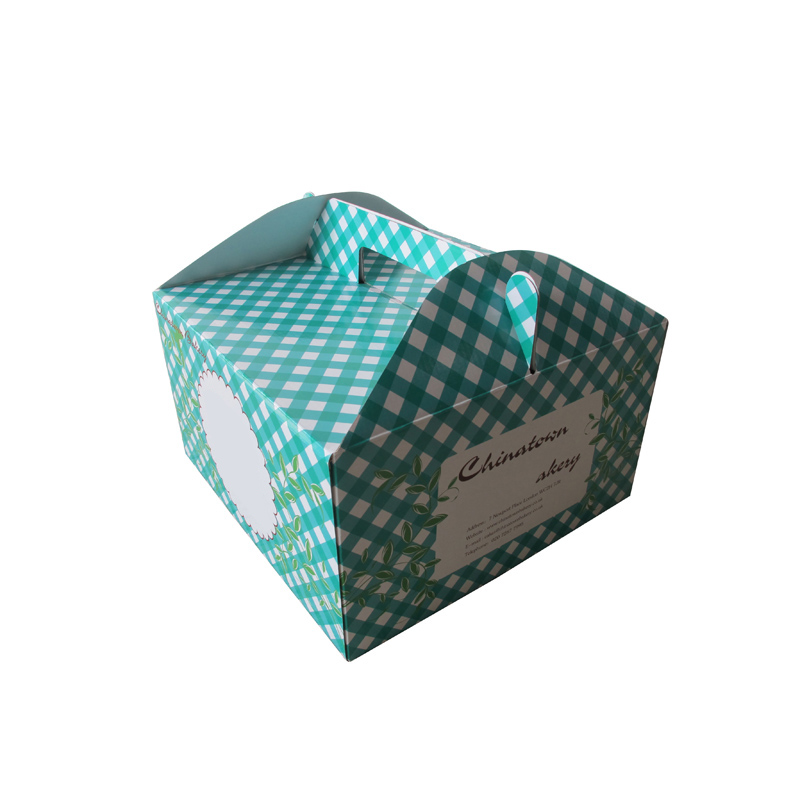 Cheap Luxury Custom Logo Design Packaging Paper Cake Box