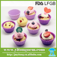 custom mini silicone cookie cup/high quality silicone cake mould