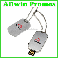 Personalized Custom Dog Tag USB Drive