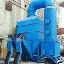Baghouse pulse jet type induction furnace dust collector