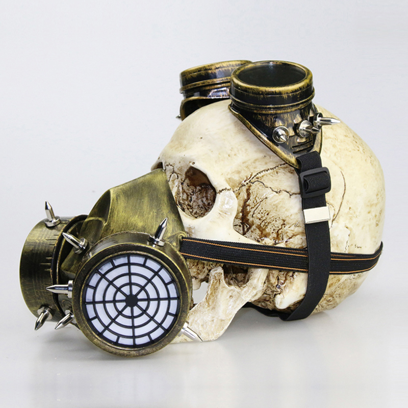 Hot blossoms Halloween props gifts steam punk gas masks goggles