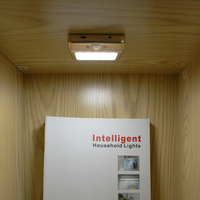 rechargeable wireless led magnetic cabinet light rechargeable led light PIR sensor under cabinet led light aluminum