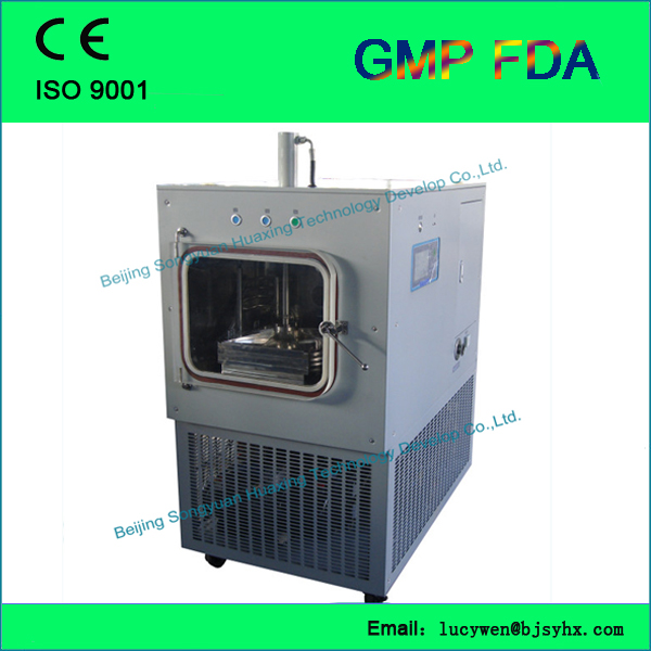 freeze dryer/lyophilizer for ampoules/ small vials