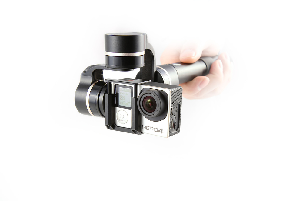 FY G4 QD 3 axis handheld stabilizer for gopro hero 3/3+/4