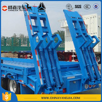 Aluminum Heavty Duty Flatbed Semi Trailer