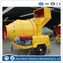 China factory directly sales diesel concrete mixer in good price JZR350 drum type diesel concrete mixer