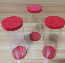 clear plastic cylinder with lid,clear cylinder box, plastic tube packaging