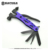 2017 New Multi-function 6 in 1 All black Outdoor camping nail hammer