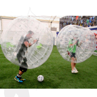 cheap prices bumper ball inflatable human sized set tpu bubble soccer