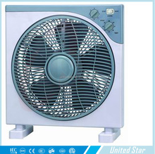 Home Using 220V Plastic Body 5Pp Blade 12 Inch Box Fan