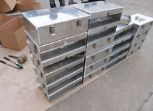 Tool box,Aluminum alloy 2mm for trucks, engineering vehicle