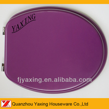 Yaxing moulded purple color toilet seat