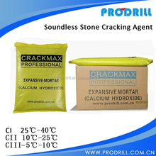 Soundless Stone Cracking Agent for for Granite and Sandstone