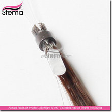 fashion designs can be dyed hot sale customization hair clips with rubber clips