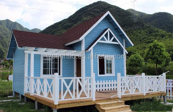 Prefab homes vacation wooden tiny houses for family