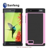 Shockproof wholesale design mobile phone cover for Blackberry Leap Z20 case