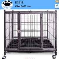 Midwest Life Stages Black Wire Double pet dog cages