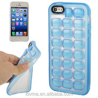 Bubble Wrap Effect Gel Case for iPhone 5 5S