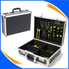 Aluminum Locking Gun Case with Rifle Lock Shotgun Storage