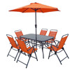 8 Pcs Set Folding Outdoor Garden