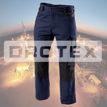Cotton Twill FR Worker Pants,Fire Retardent Safety Workman Cargo Pants In Industry