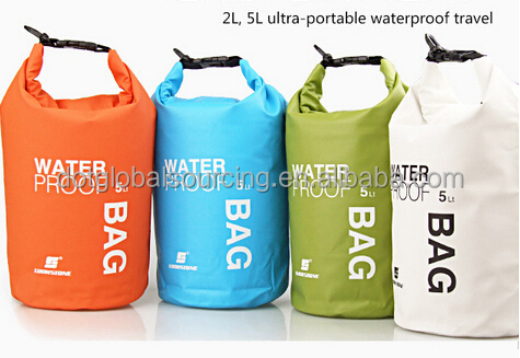 Cheapest Compress Ultralight Outdoor Waterproof Bag Rafting Sport Camping Hiking Dry Travel 5L Bags
