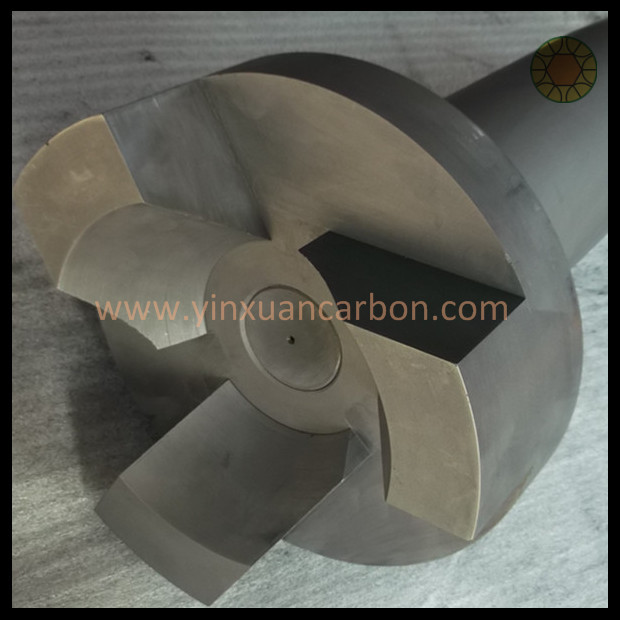Graphite Rotors and Shaft for Aluminum Degassing