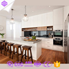 2017 kitchen design idea high gloss modern kitchen anti-scratch acrylic kitchen cabinet made by Eco-friendly materials.