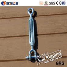 China heavy duty drop forged steel small marine turnbuckle