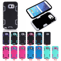 Robot Hybrid 3 In 1 Shockproof Back Cover Case For Samsung Galaxy Note 5
