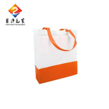 Best Selling recycled orange cheapest pp tote non woven bag