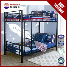cheap bunk bed student steel bunk bed adult metal twin bunk bed for sale