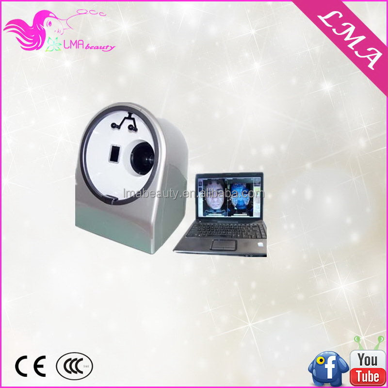 Newest manufacture home use facial skin analysis device