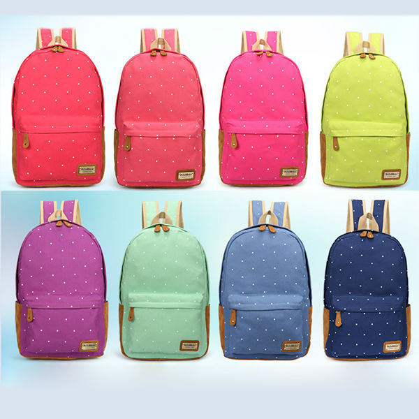 2014 angel kiss wash canvas backpack China manufacturer backpack
