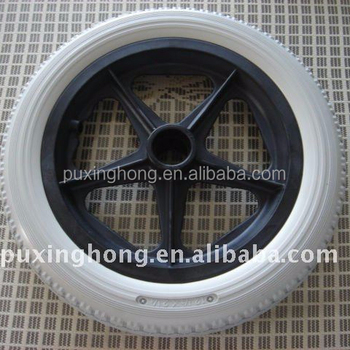 Small Wheel for Manual Wheelchair Polyurethane Foam Filled Wheel