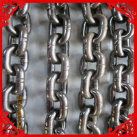 2015 New Type Welding Link Chain With Delta Ring And Grab Hook Each On One End