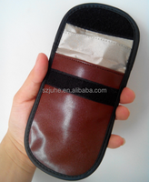 New!! leather pouch mobile phone wallet rfid bag for cellphone
