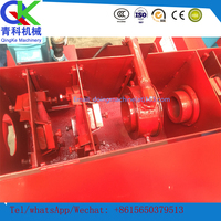 Smooth running low noise easy to move Brass derusting and straightening machine
