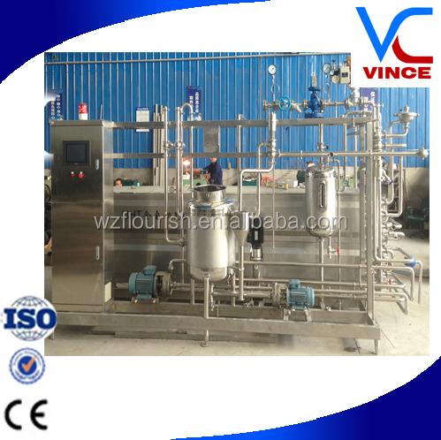 uht milk processing plant pdf