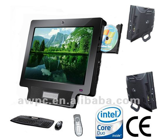 "19"" all-in-one PCTV in 2012 new model"