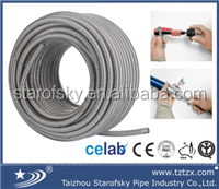 China Hot Sale Stainless Steel Flexible Metal Hose Stainless Steel Corrugated Hose STAROFSKY TZX-E0001