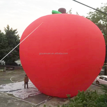 Giant Oxford cloth inflatable tomato model,inflatable apple model ,inflatable fruit for the outdoor