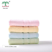 soft children or baby towel bamboo and cotton fiber hand face towel