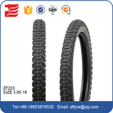 China top brand motorcycle tire size 3.00-18 with factory price