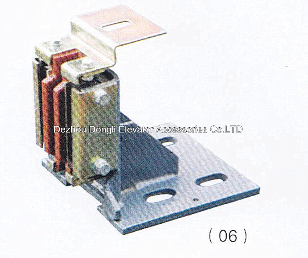 mitsubishi heavy guide shoe/elevator guide sliding parts guide shoes/elevator parts